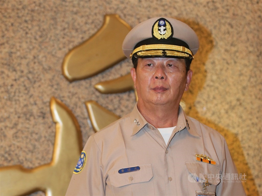 New Chief of the General Staff Admiral Huang Shu-kuang.