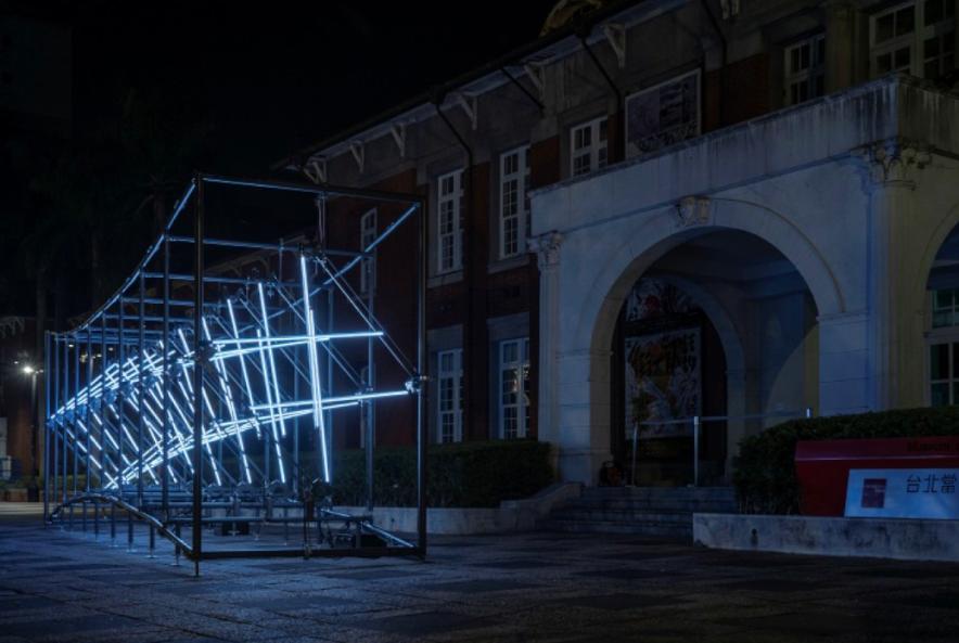 國美館首屆台灣國際光影藝術節 「光之饗宴」義大利設計師磅礴登場