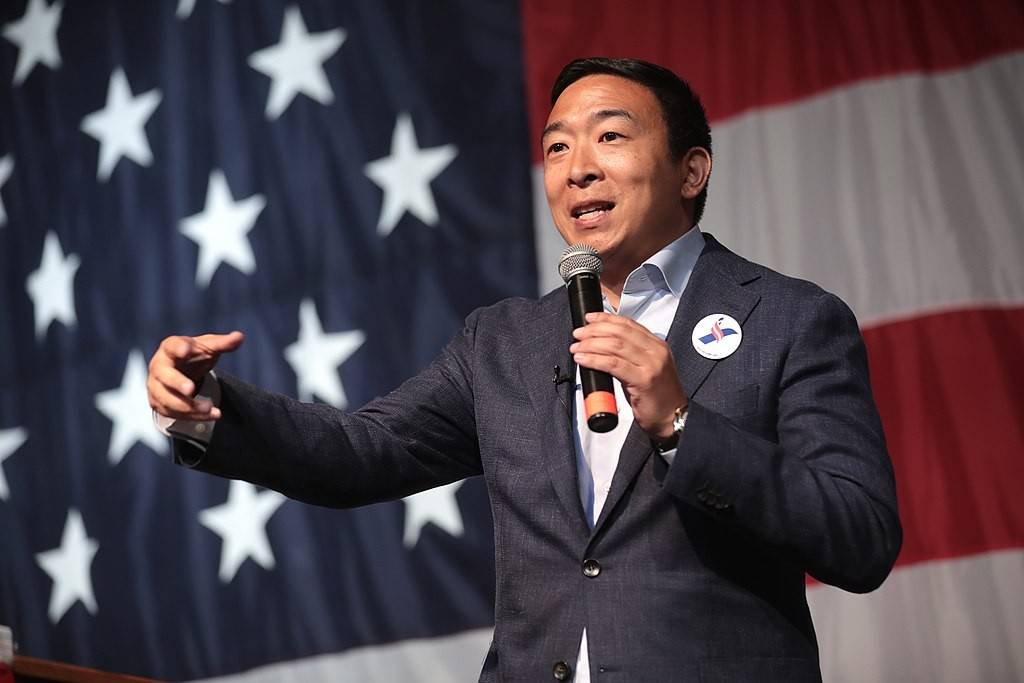 Why is Andrew Yang now silent on Taiwan?