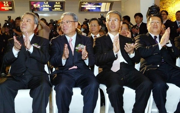 Wei brothers surpass Terry Gou as Taiwan's richest. (Facebook photo)