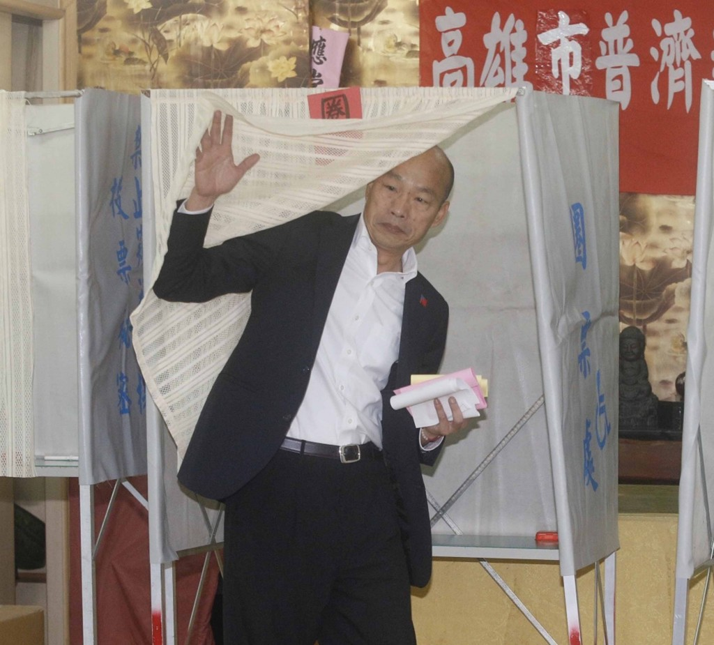 Han casting his vote on Jan. 11.