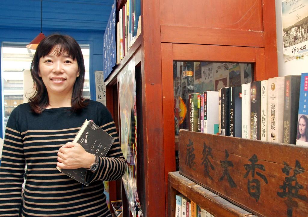 陳晏華認為,開書店資金和熱情都要充足。