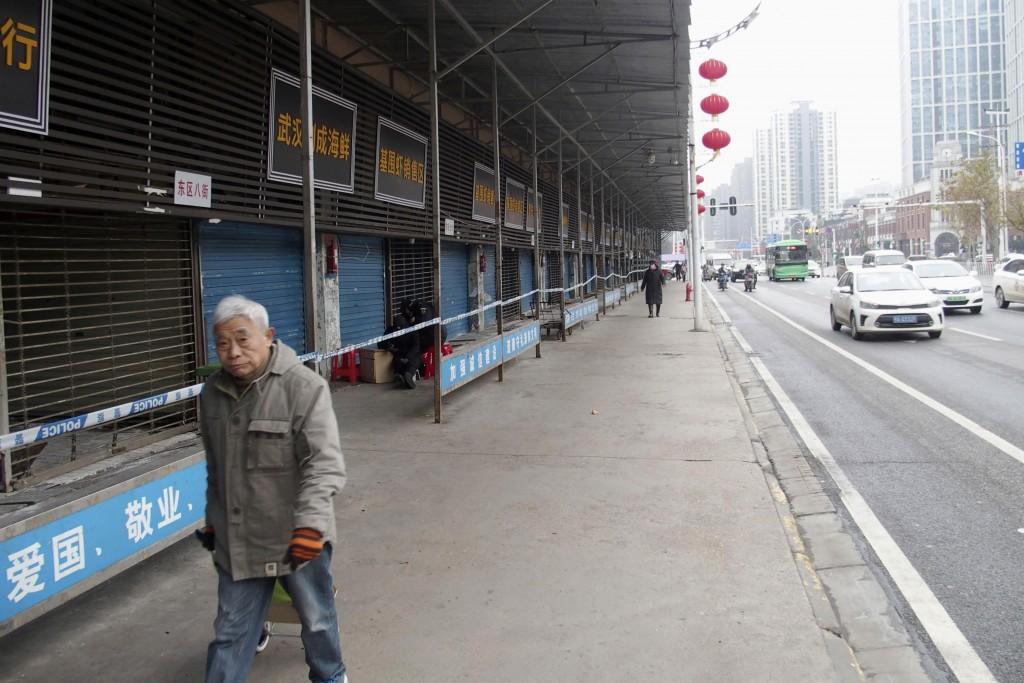 中國新型冠狀病毒感染引發的肺炎疫情升溫(圖/ 美聯社)