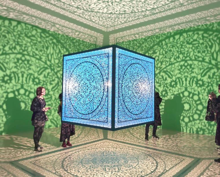 奇美博物館推出「有影無影?影子魔幻展」(圖/台灣英文新聞)