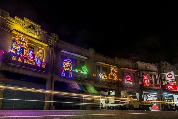 Tainan in SW Taiwan shines with the Yuejin Lantern Festival