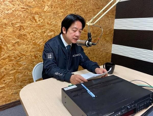 William Lai interviewed byTaiwan New Telecommunication. (Facebook photo)