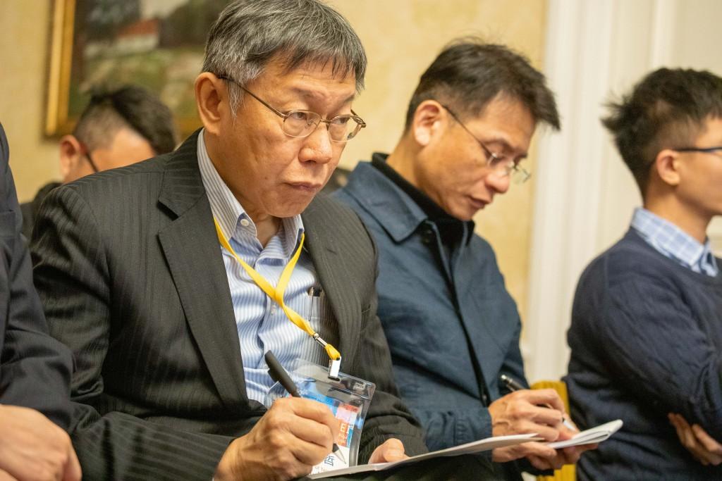 Taipei Mayor and physician Ko Wen-je (Taipei City Government photo)