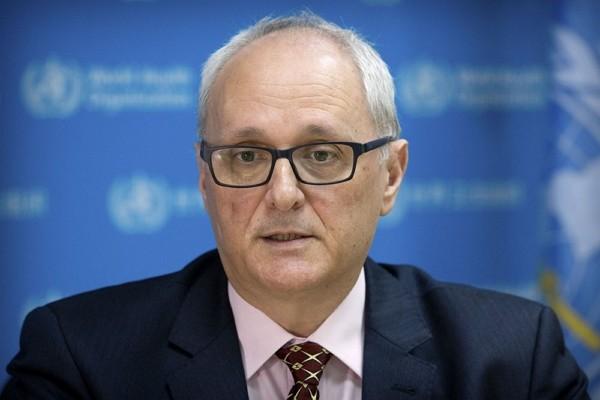 Dr.Gauden Galea, WHO representative in China.
