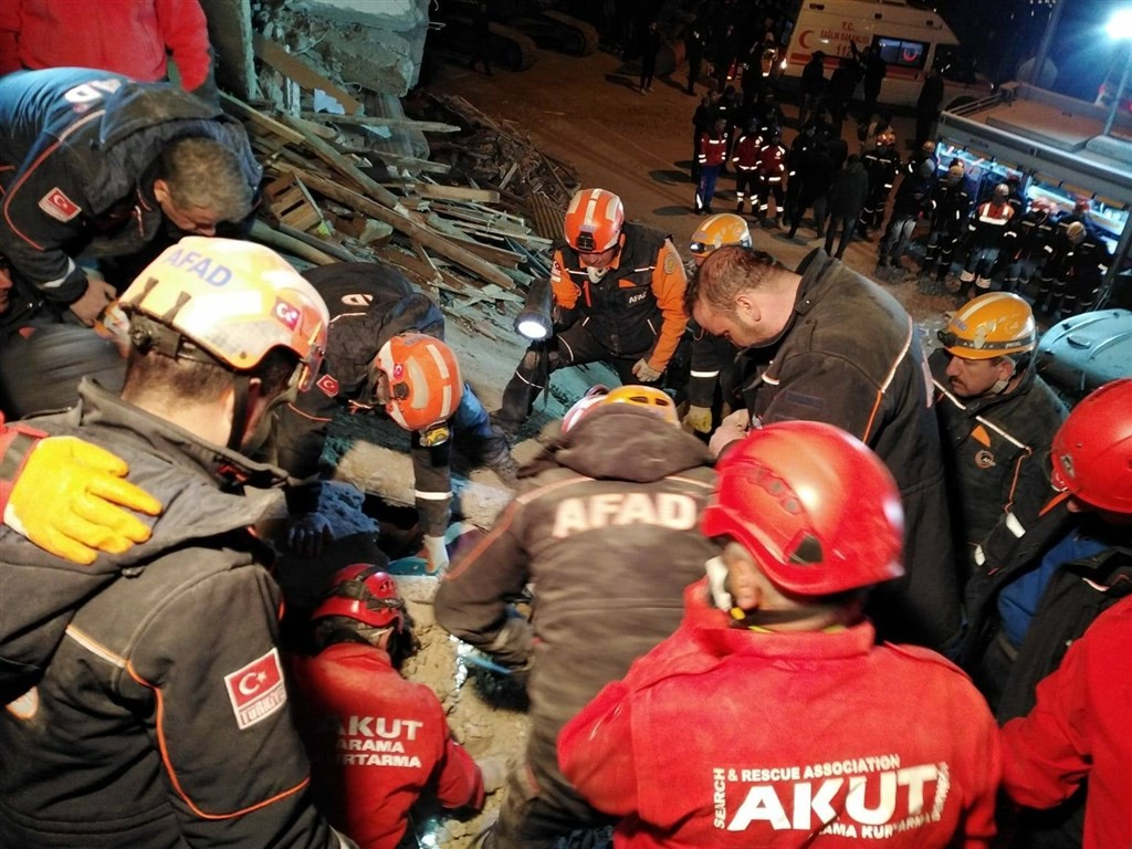 AKUT Association finished search-and-rescue missions Jan. 27. (AKUT Association Facebook photo)