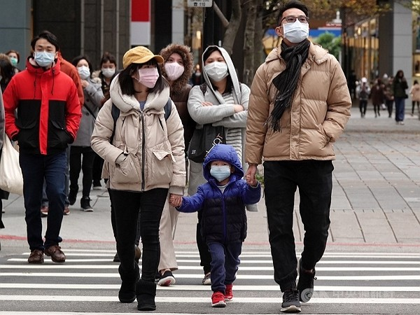 Temperatures in Taiwan dropped to lowest this winter on Wednesday.