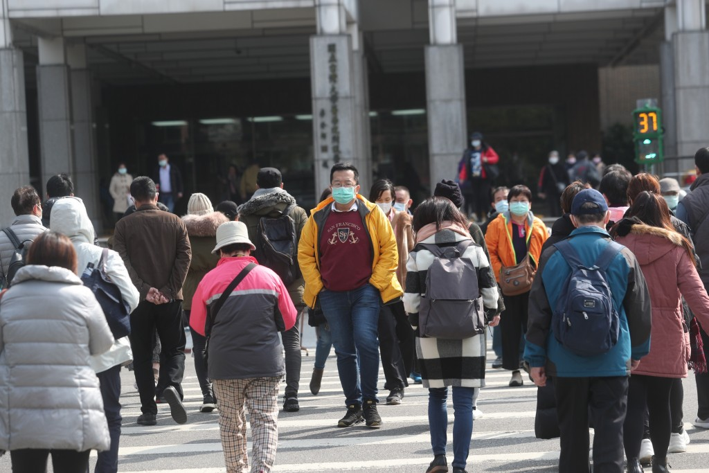 Crowds in Taipei Thursday (Jan. 30).