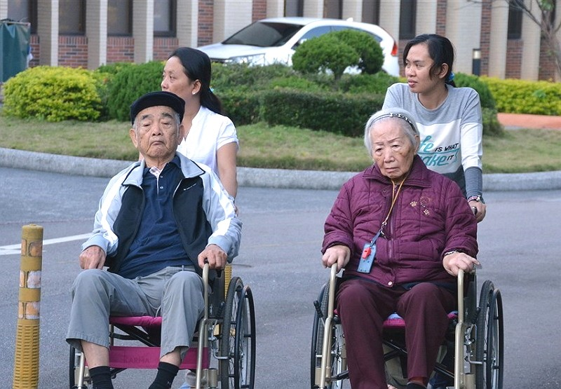 Migrant caregivers in Taiwan