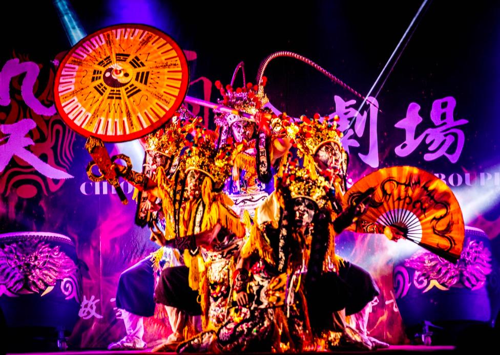 名揚國際的台灣表演團體九天民俗技藝團將領銜演出《年味復興‧陣頭狂響》(圖/國立傳統藝術中心)