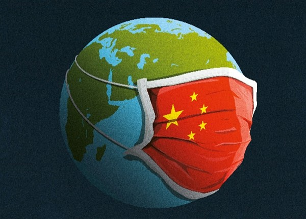 Latest cover of The Economist depicts Chinese flag as surgical mask. (Facebook photo)