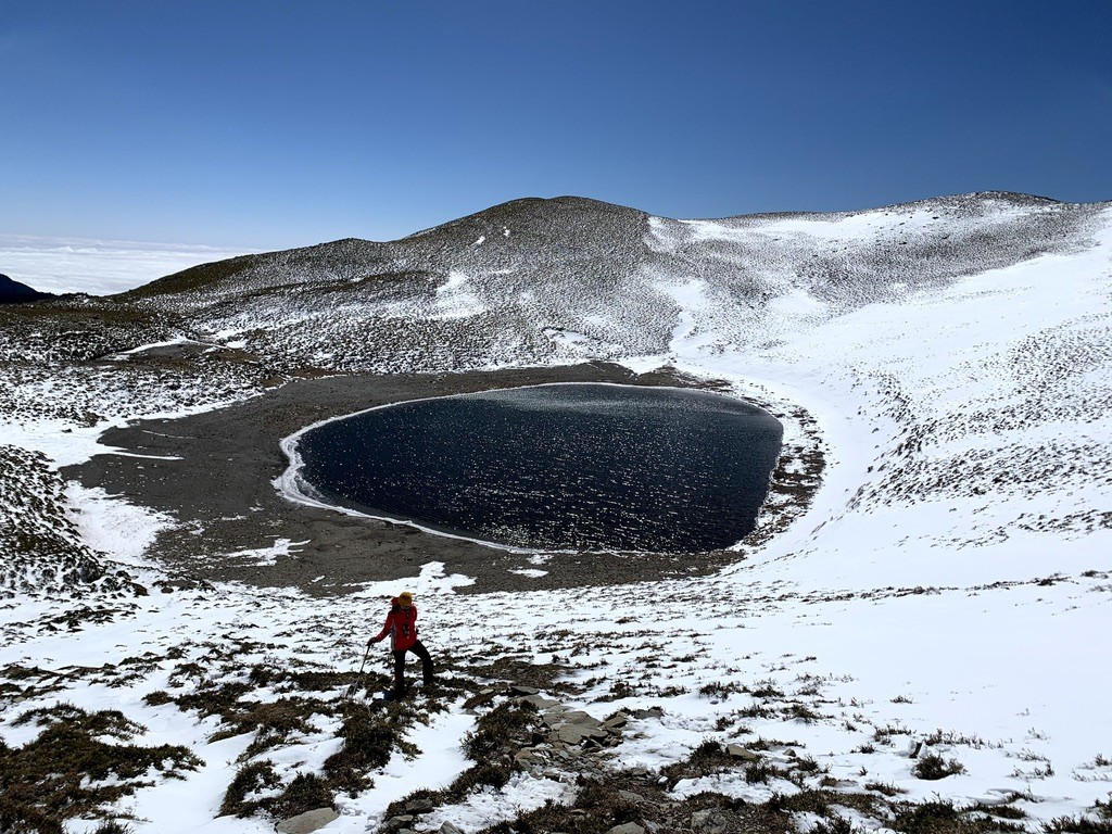 Photo of the Day: Snow on Taiwan's Chiaming Lake