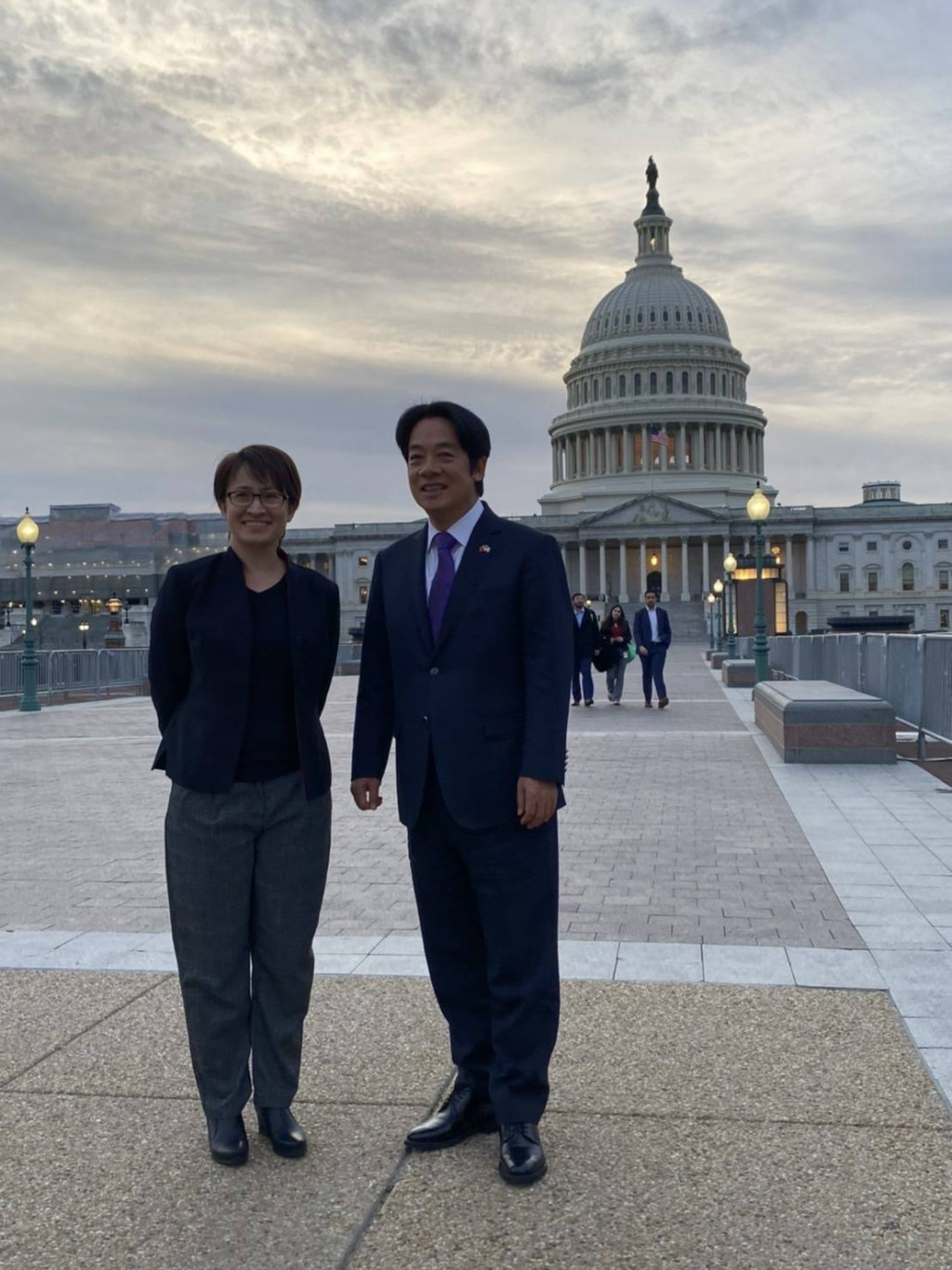 Vice President-elect Lai on a trip to U.S. made possible by Taiwan Travel Act