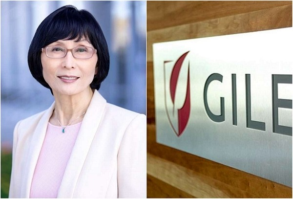 Taiwanese scientist Taiyin Yang heads research into remdesivir. (Gilead Sciences photo)