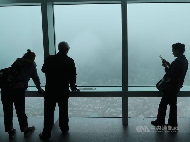 圖為台北101觀景台 (中央社檔案照片)