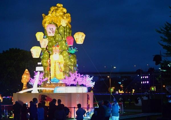 New Taipei Lantern Festival runs Feb. 7through March 1.
