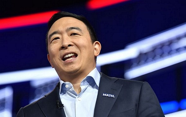 Andrew Yang drops out of US presidential race.