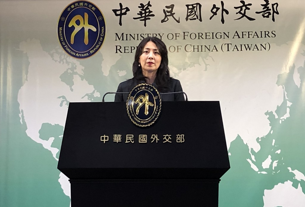File photo of MOFA spokeswoman Joanne Ou.