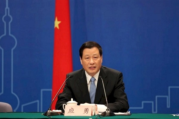Shanghai Mayor Ying Yong is appointed secretary of Hubei province. (Facebook photo)