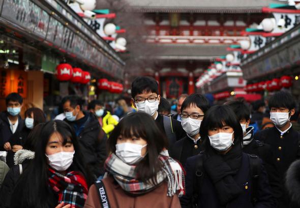 日本新增首例感染武漢肺炎死亡病例(示意圖/美聯社)