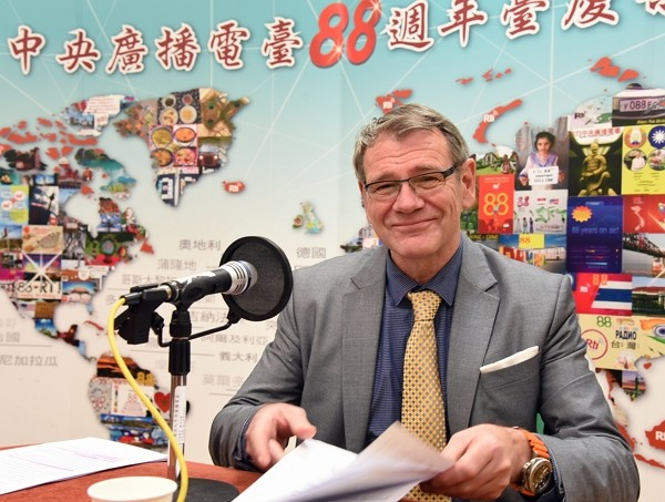Dr. Thomas Printz, director general of German Institute Taipei. (Facebook photo)