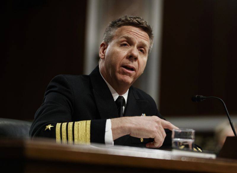 File photo of US Admiral Philip Davidson.