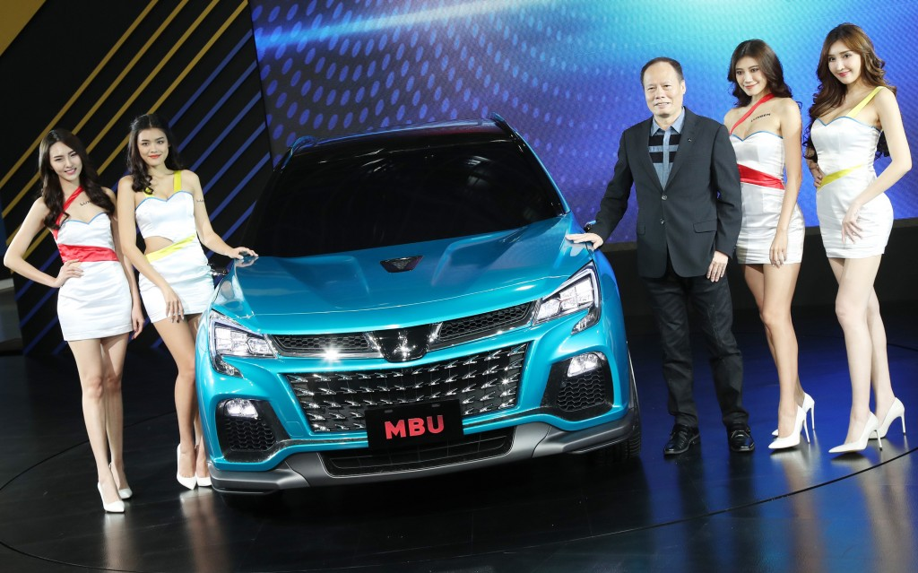 A Luxgen concept car from Yulon at last December's Taipei car show.