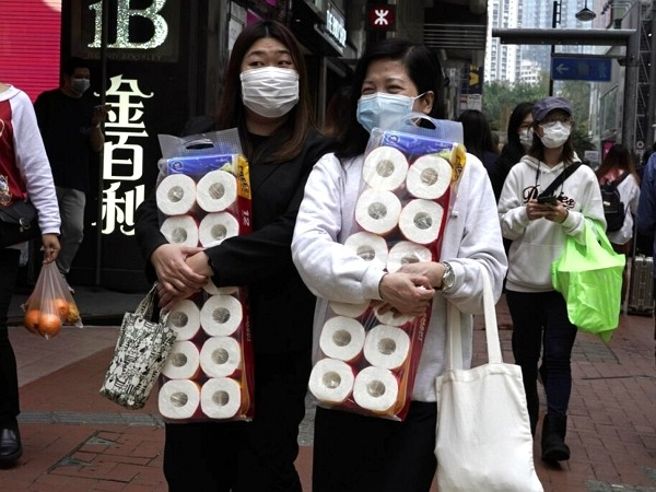 Coronavirus causes panic buying in Hong Kong.