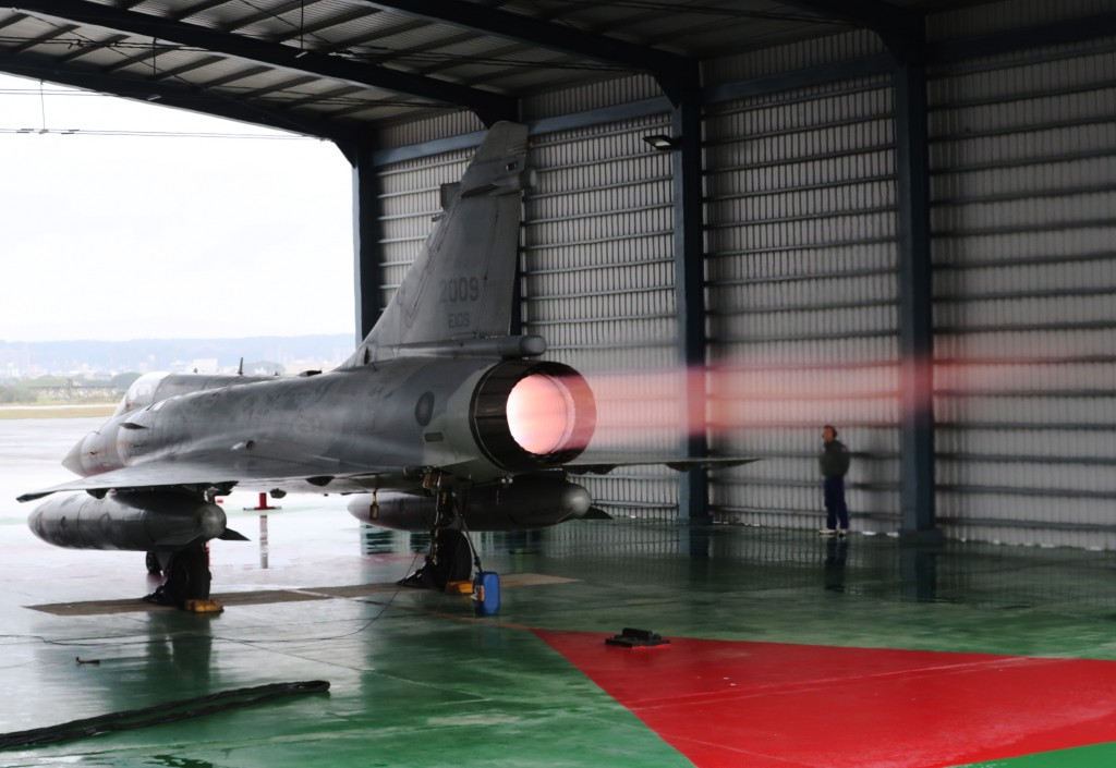 Hsinchu Air Force Base houses the Mirage 2000 jets.