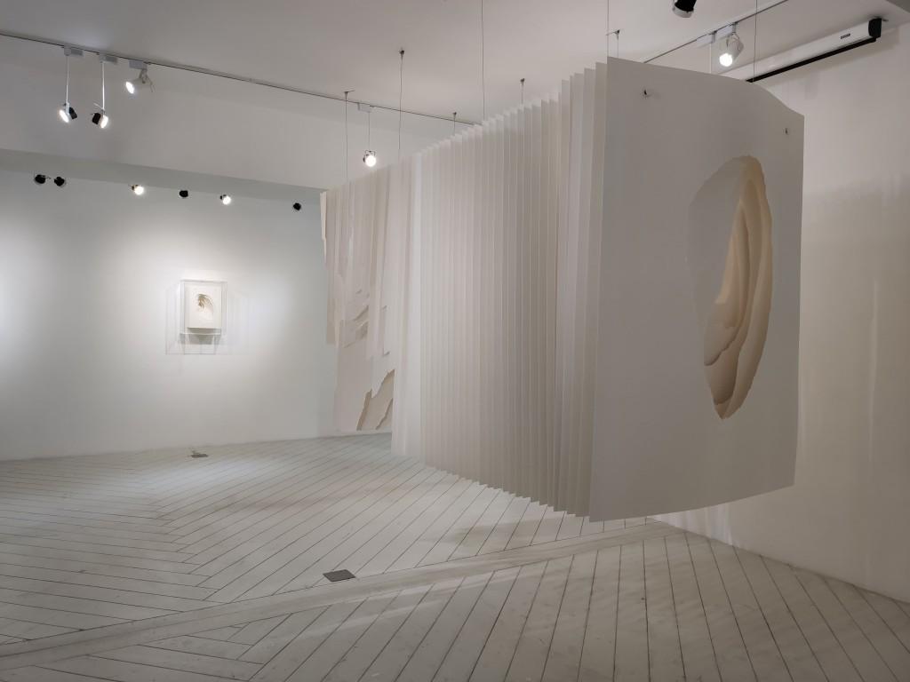 紙雕塑重現大自然樣貌(圖/台灣英文新聞Lyla Liu)