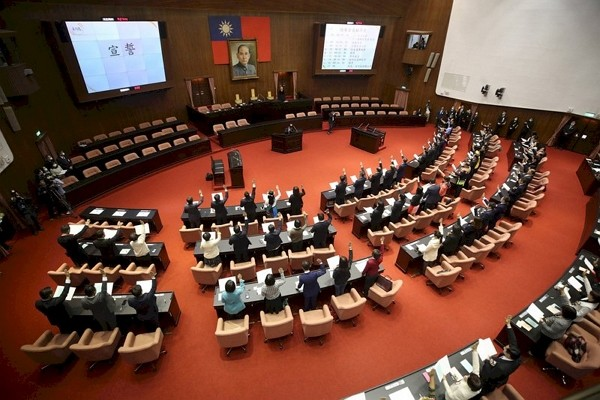 Legislators issue joint statement calling for Taiwan'sparticipation in WHO.