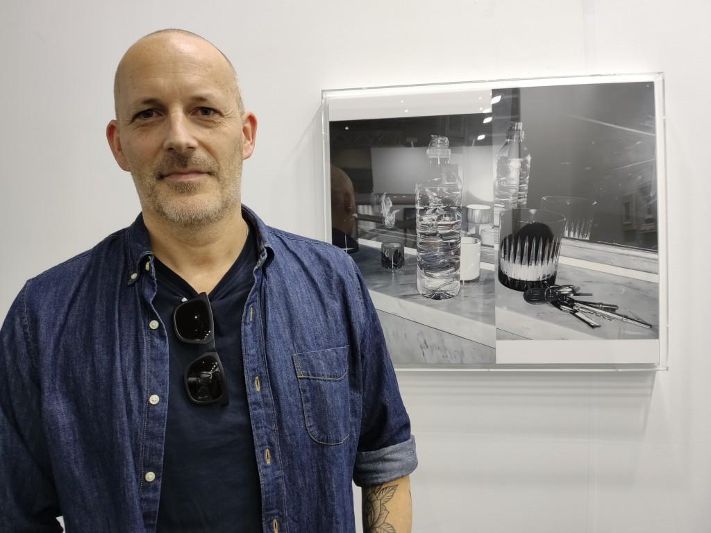 英國藝術家詹姆斯・懷特亞洲首展已於尚凱利藝廊登場(圖:台灣英文新聞Lyla Liu)