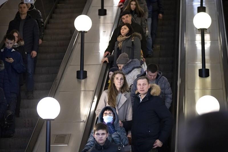 圖為莫斯科地鐵站 (美聯社)