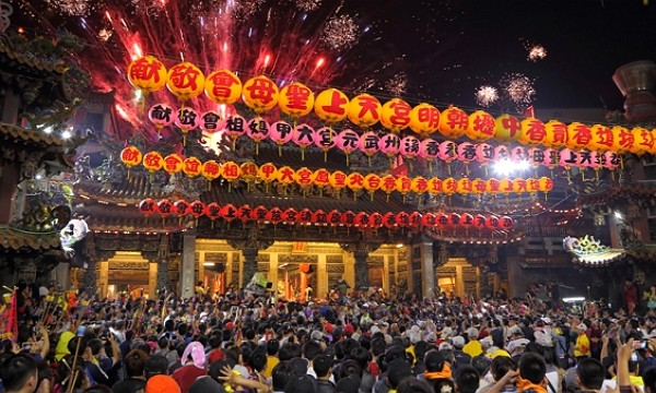 Dajia Masu Pilgrimage attracts large numbers of participants each year. (Facebook photo)