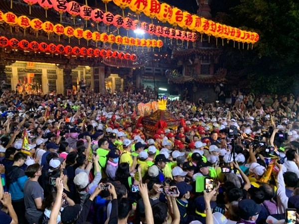 Dajia Matsu Pilgrimage postponed due to coronavirus. (Facebook photo)