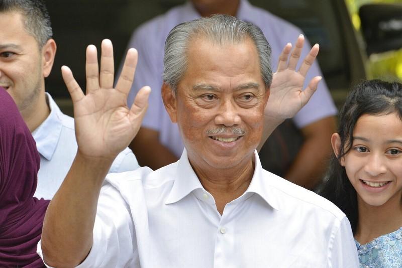 馬來西亞首相慕尤丁(美聯社)