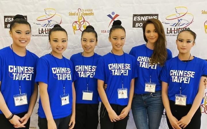 Larisa Bakurova (second right). (New Taipei City Government photo)