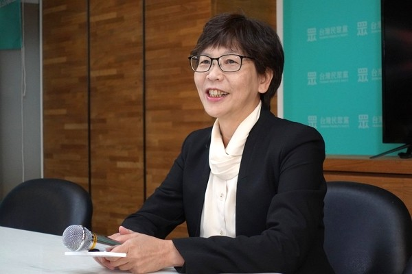 Taipei City Government adviser Tsai Pi-ju.