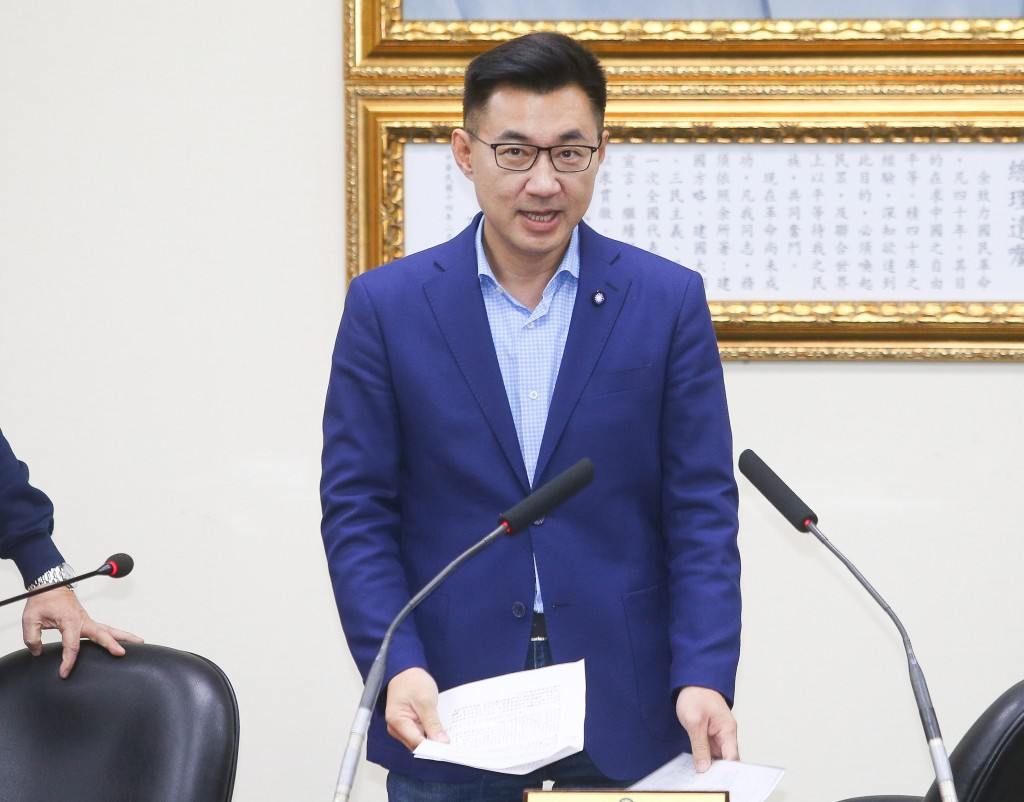 KMT Chairman-elect Johnny Chiang