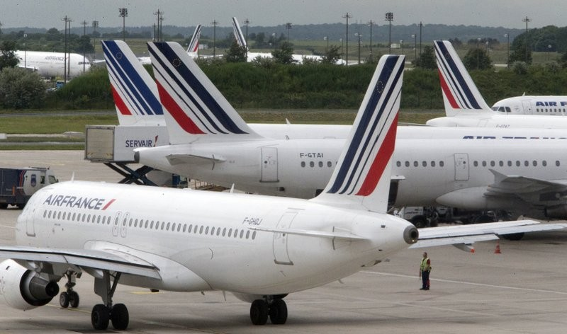 Air France suspends Taiwan flights until at least March 28.