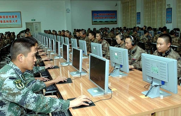 Chinese cyber warriors. (Facebook photo)