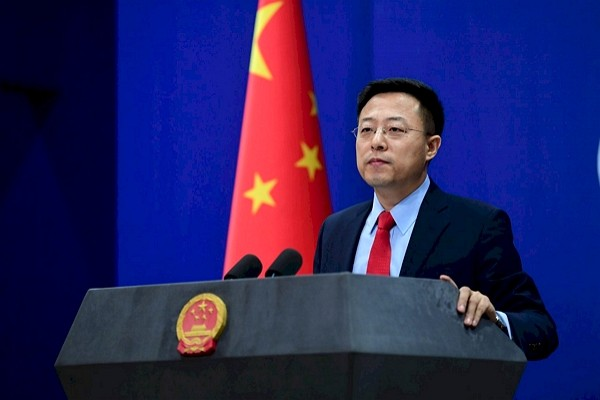 China's Ministry of Foreign Affairs Spokesman Zhao Lijian (Twitter photo)
