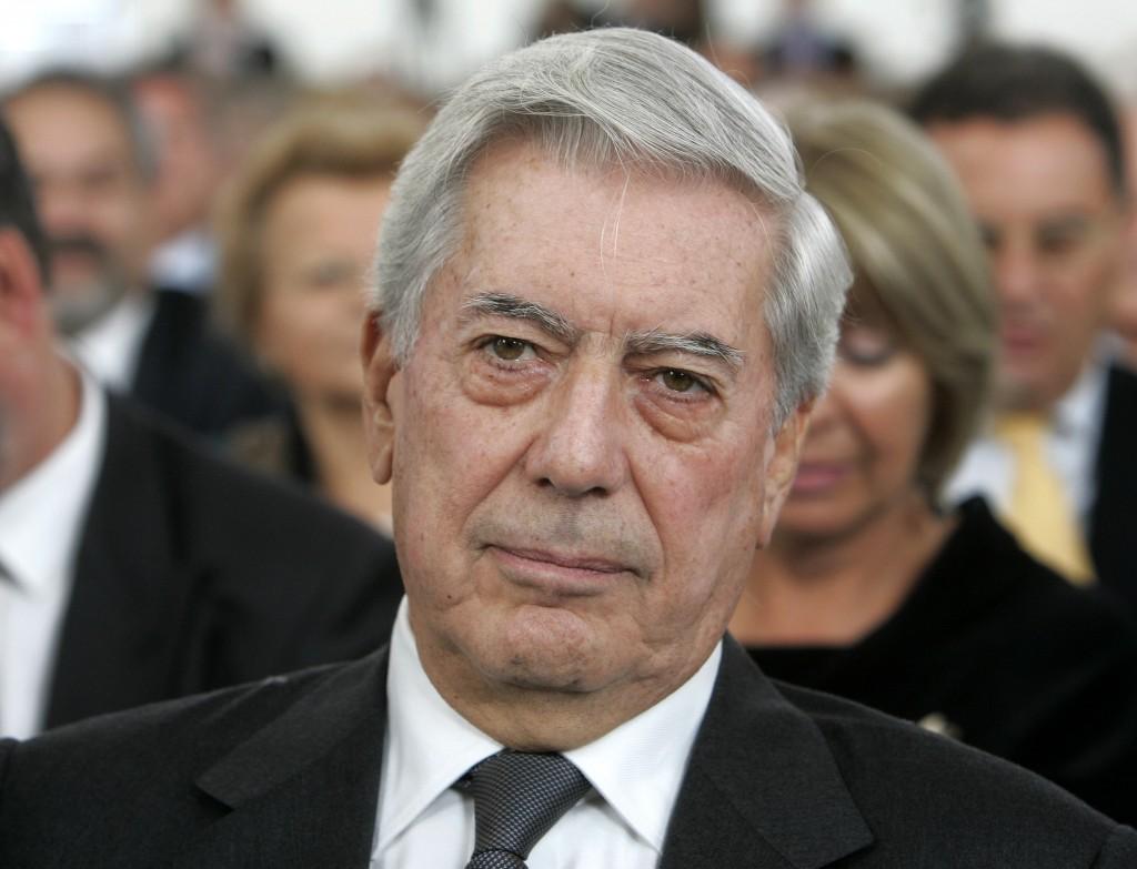 Literature Nobel Prize laureate Mario Vargas Llosa