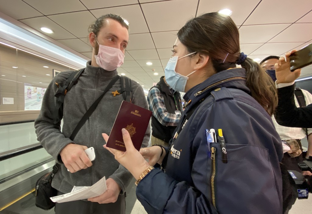French tourist denied entry to Taiwan after arriving from Singapore on Thursday.