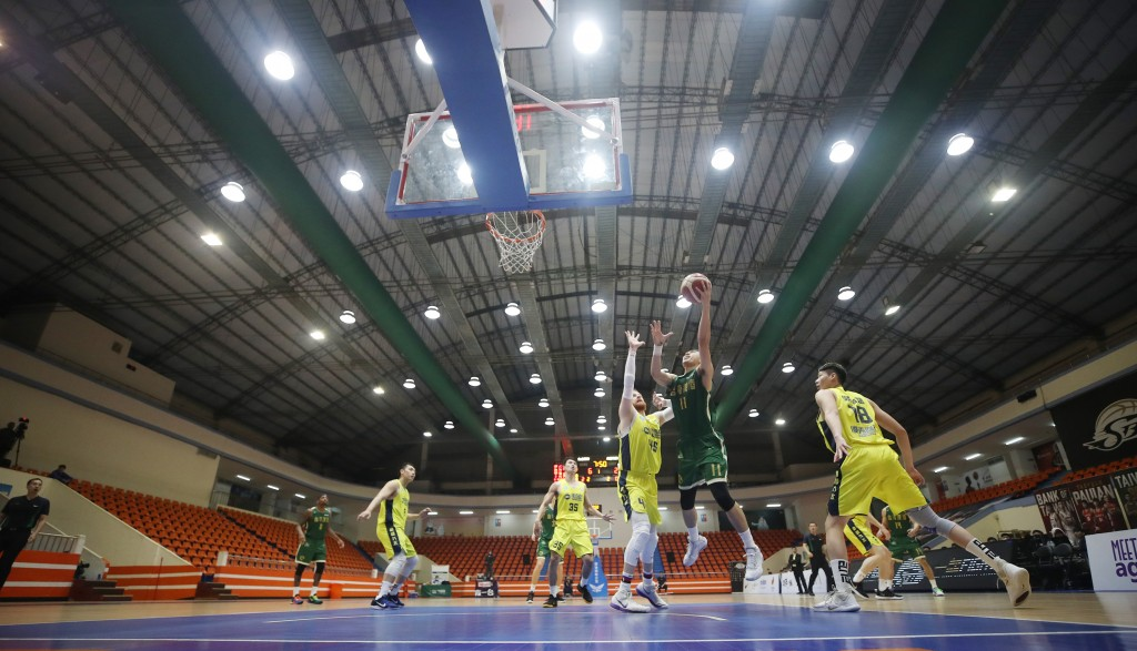 File photo of a basketball game in Taiwan