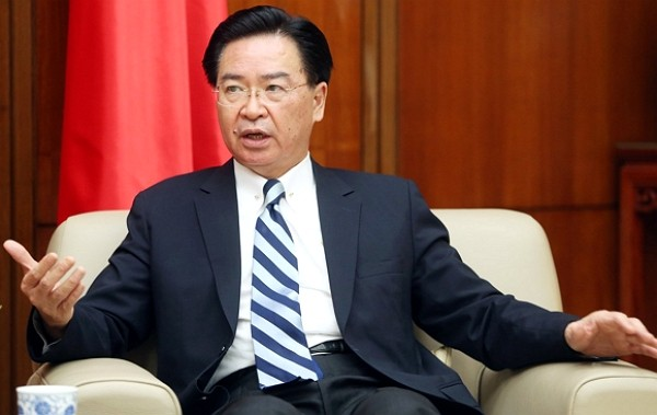 Minister of Foreign Affairs Joseph Wu.