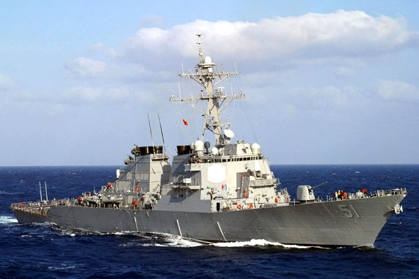 U.S. Arleigh Burke-class guided-missile destroyer. (Wikimedia photo)